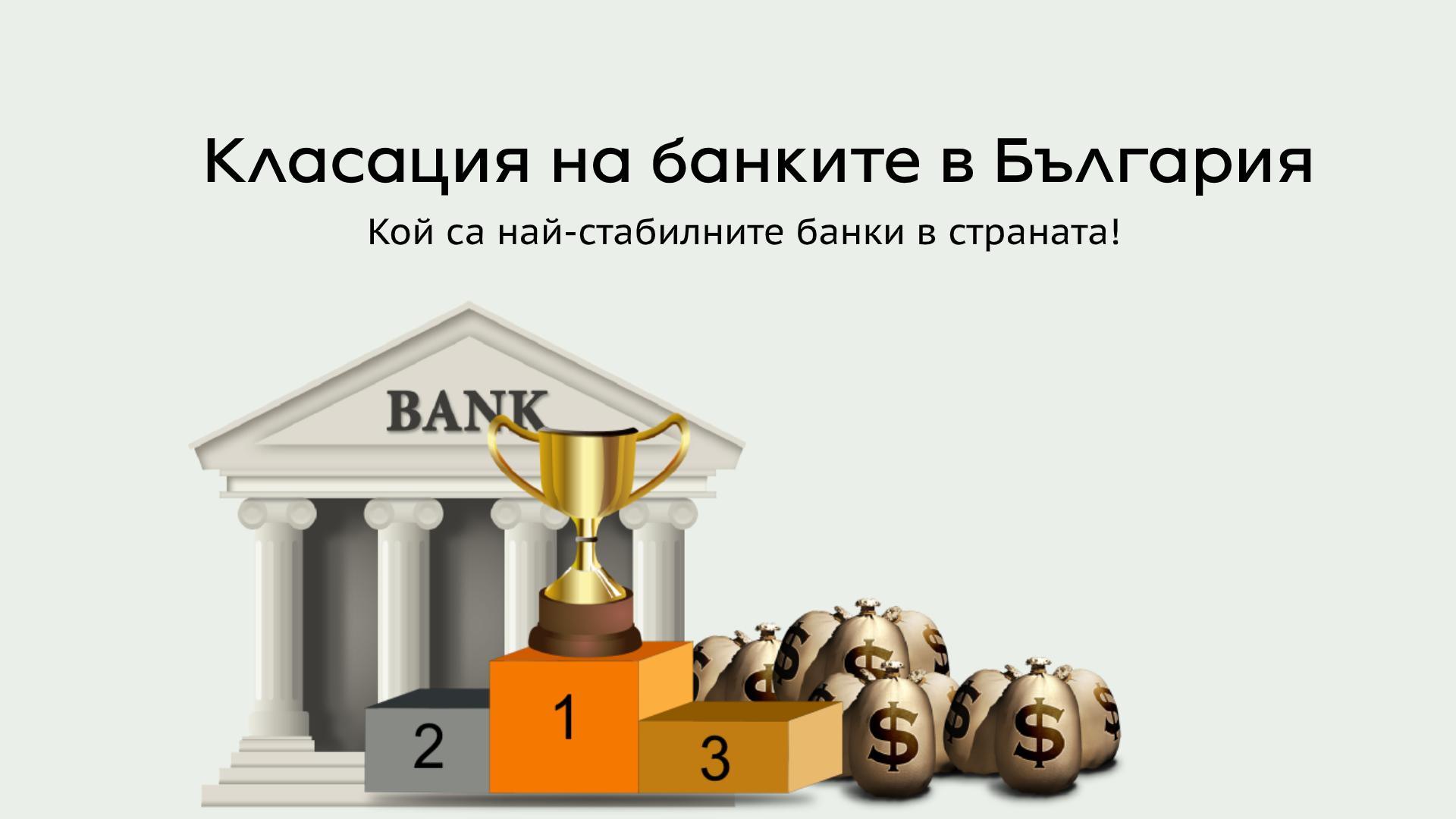 Класация на банките в България